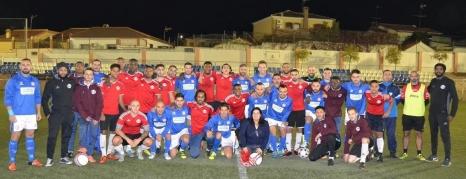 CWFC & Deportivo Alhaurin, Malaga