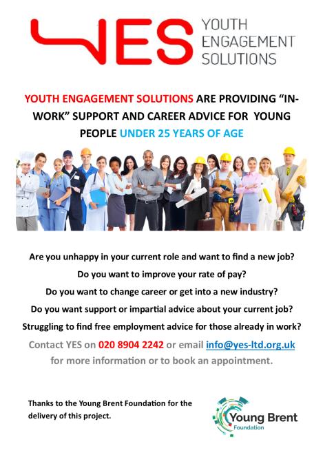 In-Work Support Flyer